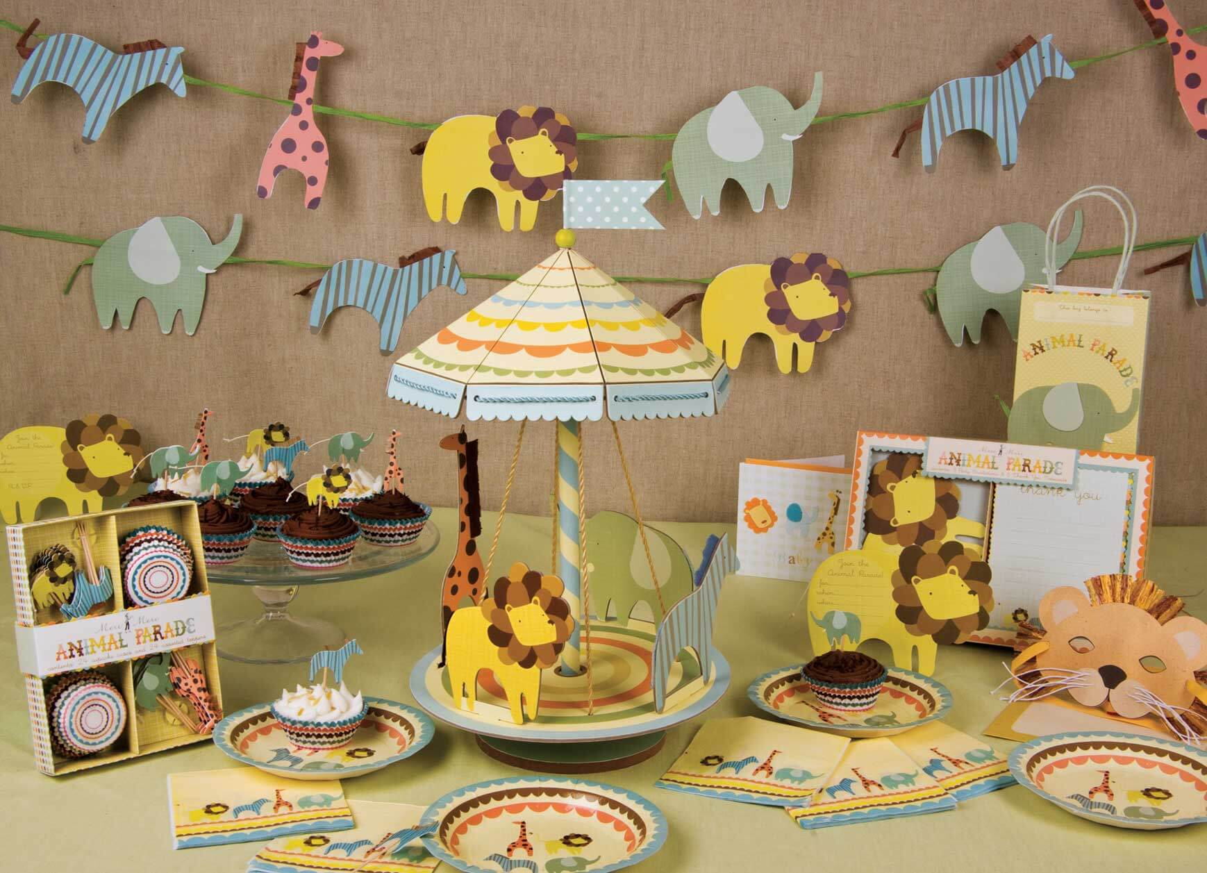 Animals Baby Shower Decoration Ideas · Baby Care Answers