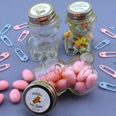 Animal Baby Shower Favors Ideas Animal Candy Jar