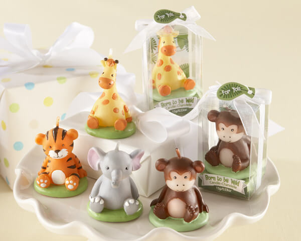 Animal Baby Shower Favors Ideas Cute Animal Candle