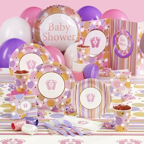 Baby Shower Decoration Ideas Baby Printed Plates