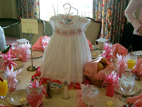 Baby Shower Decorations Ideas Cute Cloth