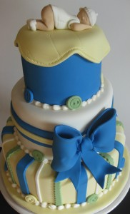 Baby Shower cake for boys Ane Gedde