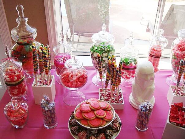 Candy Baby Shower Decoration Ideas · Baby Care Answers