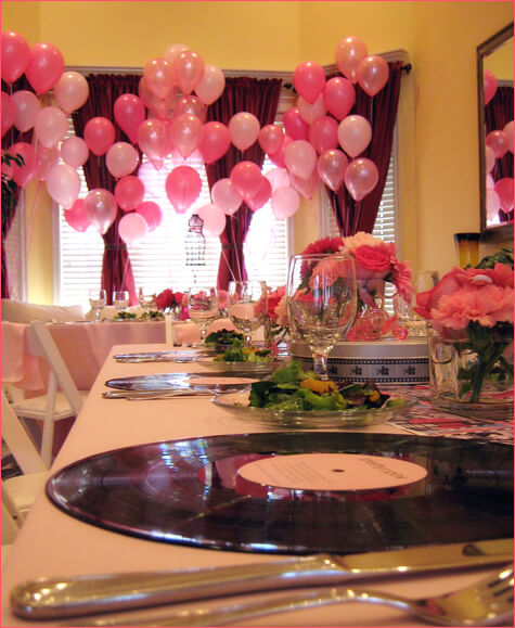 How to Decorate Baby Shower With Balloons; Pink Balloons