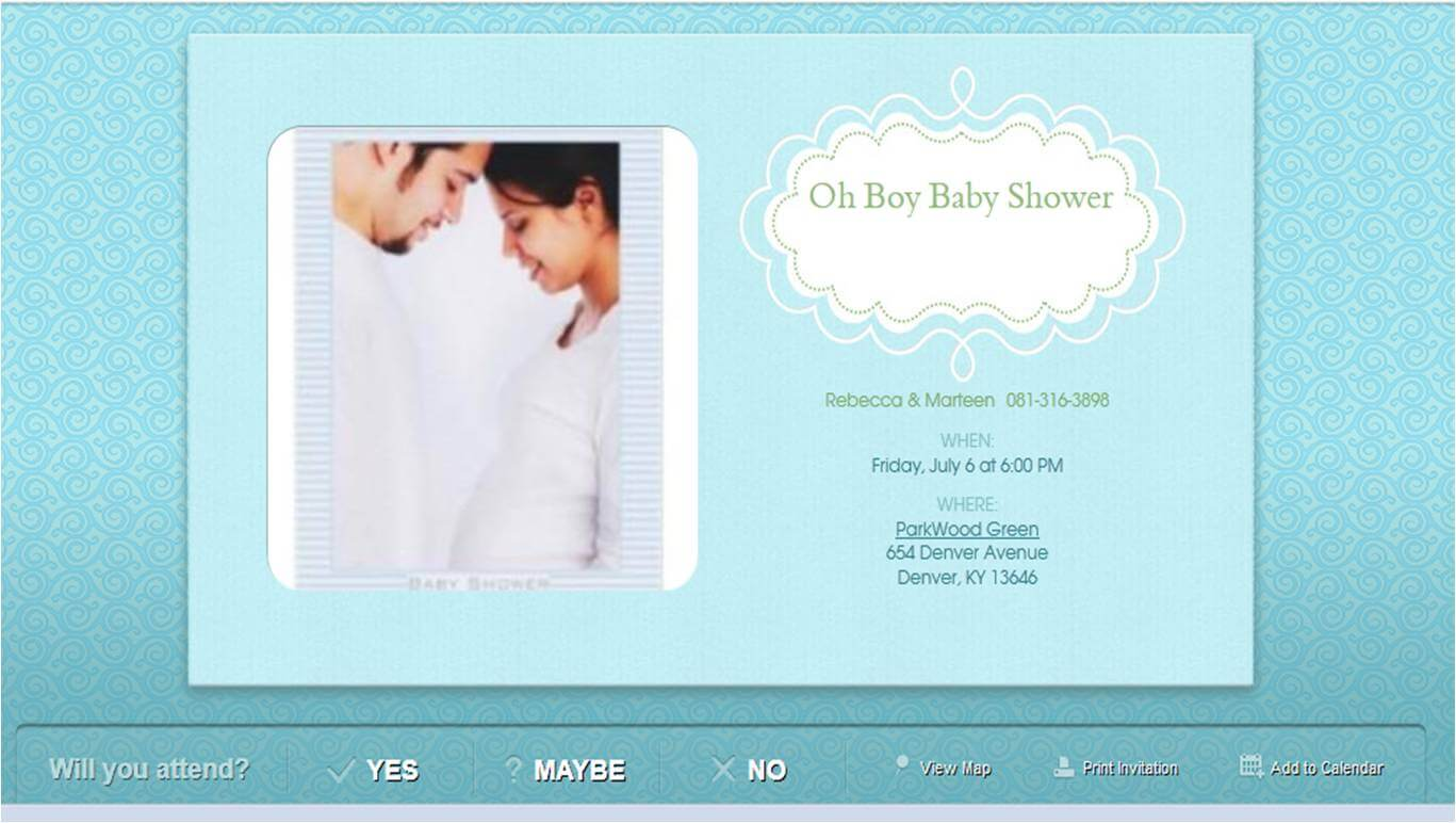 Online Baby Shower Invitations · Baby Care Answers