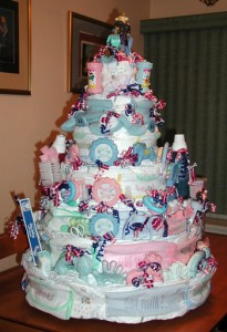 Baby Shower Cake for Boys Complete Baby Gift Package