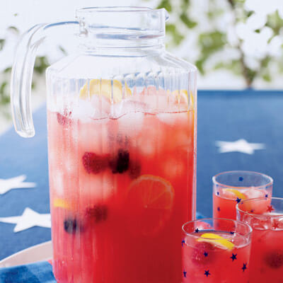 baby shower food ideas for baby girl punch berry lemonade