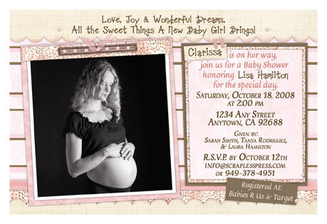 Customized Baby Shower Invitations · Baby Care Answers