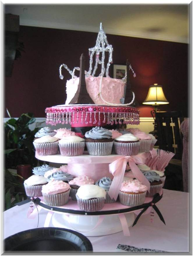 Baby Shower Cake Centerpieces Cupcakes