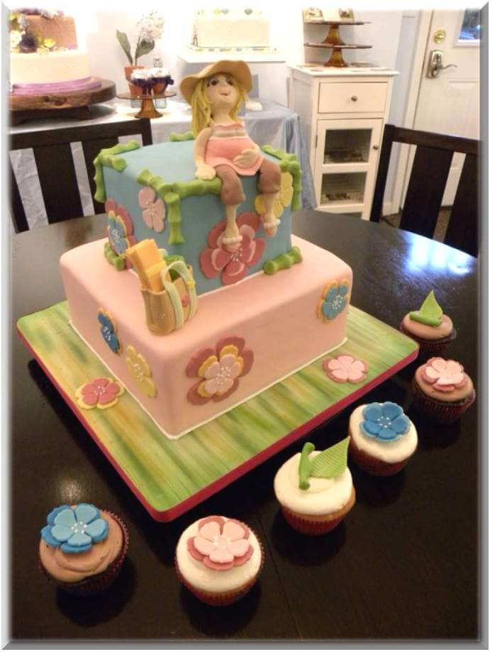Baby Shower Cakes Expecting Mom's