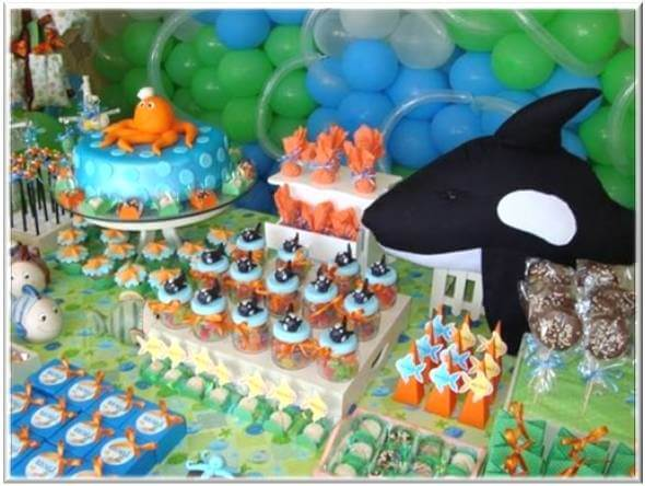 Baby Shower Decoration Ideas Pictures Under The Sea