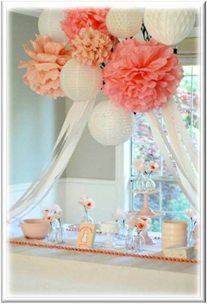 Baby Shower Decoration Ideas Pictures Delicate Baby Shower Ideas