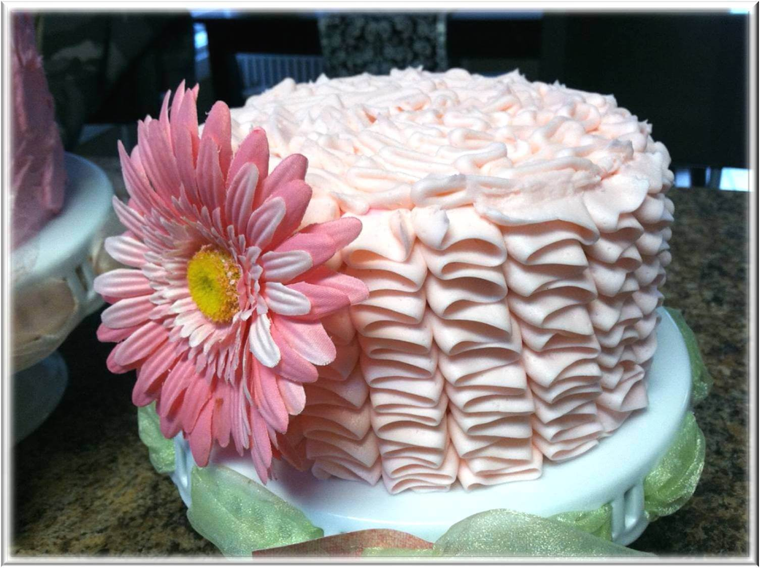Beautiful Baby Shower Cakes Sun Flower