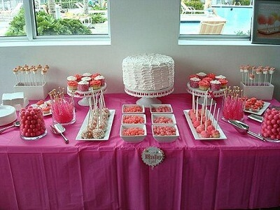 Candy Table for Baby Shower Decoration Ideas · Baby Care Answers