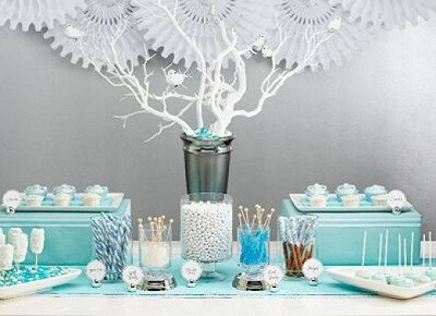 Elegant Baby Shower Centerpieces for Boys and Preferences · Baby
