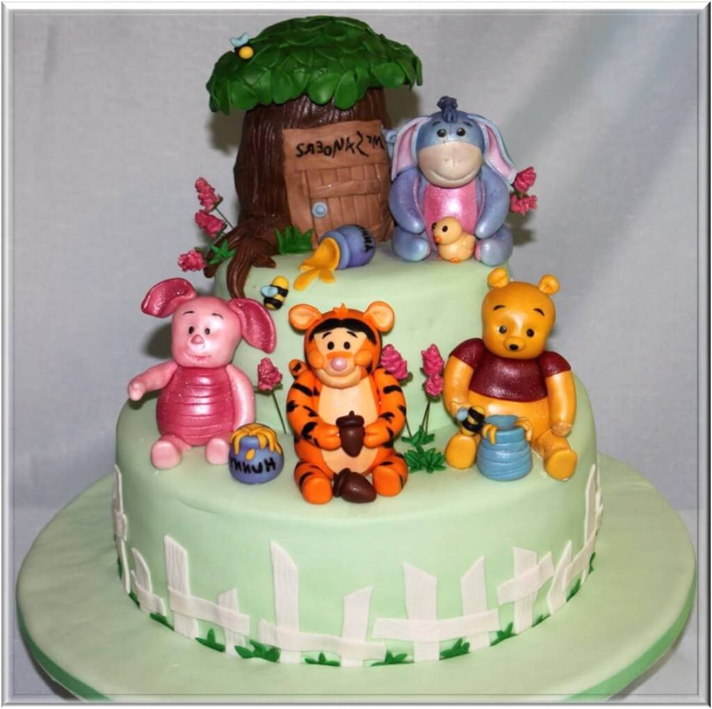 Pics of Baby Shower Cakes Baby Shower pooh Cake