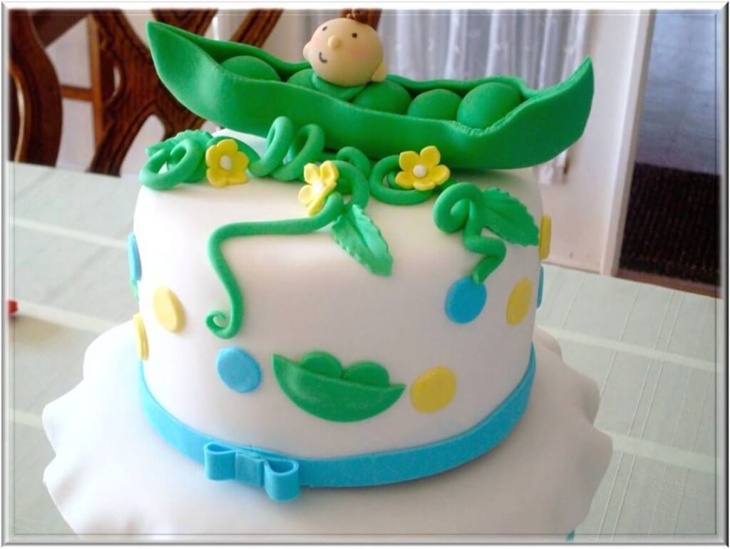 Pics of Baby Shower Cakes Pea in the Pod