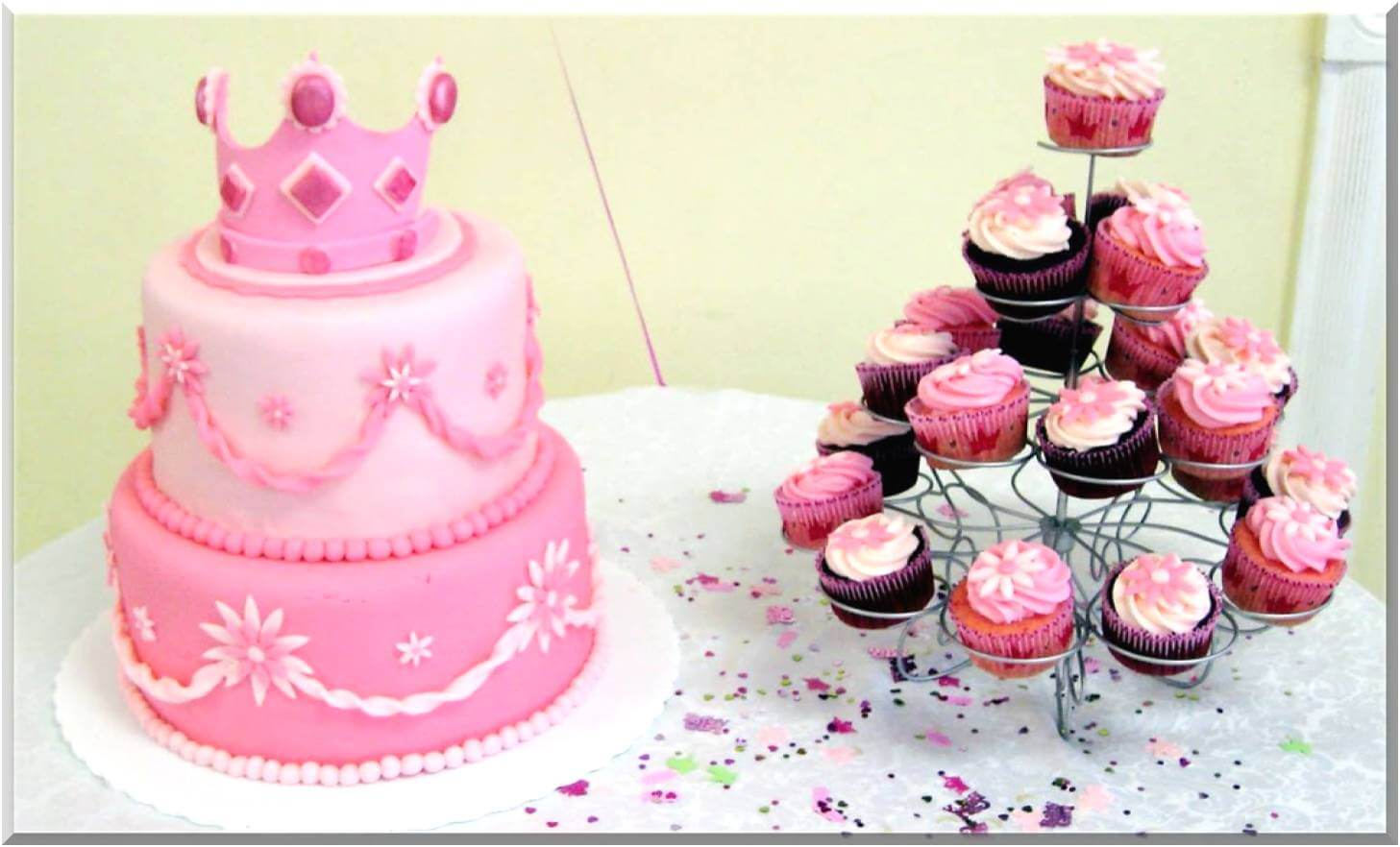 Princess Baby Shower Ideas Girl · Baby Care Answers