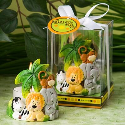 Animal Baby Shower Favors for Safari Themed Baby Shower