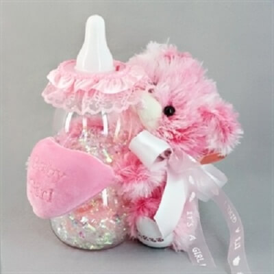 Baby Shower Baby Girl Centerpieces · Baby Care Answers