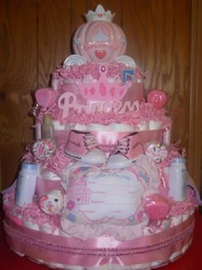 Princess Baby Shower Ideas Girl