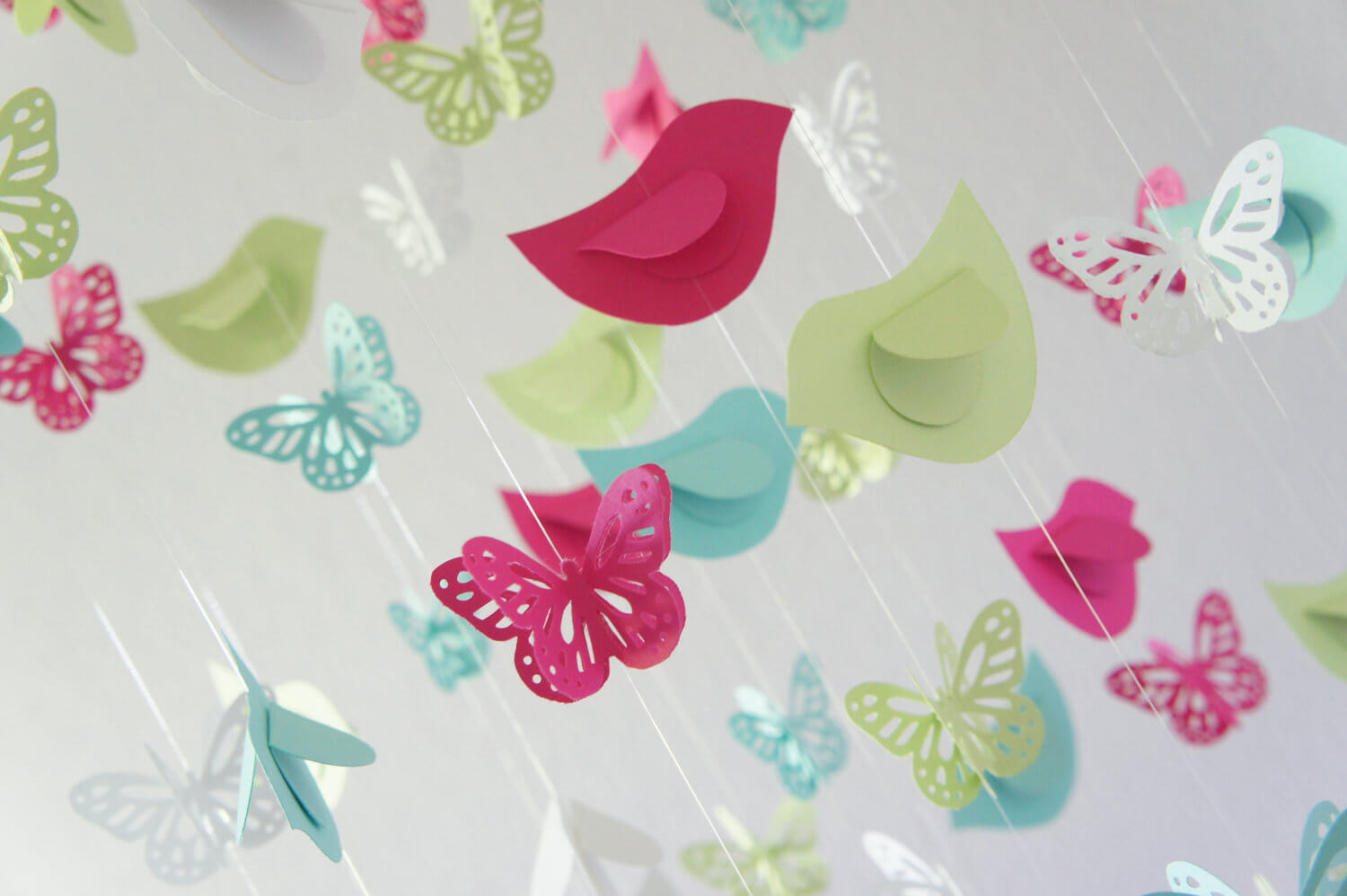 Butterfly Baby Shower Decorations 1500 x 998