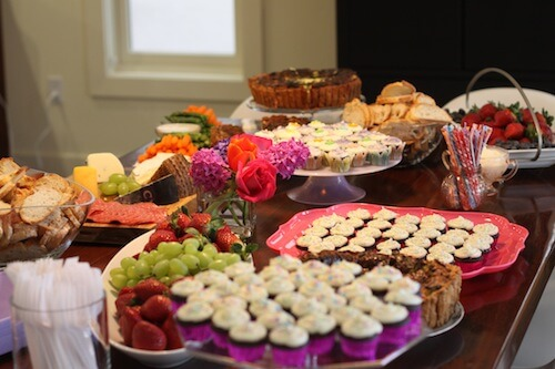 Baby Shower Food and Drink: Great Party Begins with Great Meals